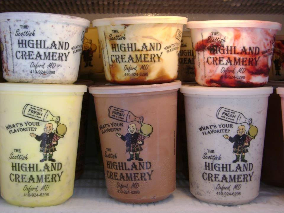 The Highland Creamery Ice Cream is simply spectacular!  Voted by Trip Advisor as one of the top 5 ice cream shops across the U.S.A!