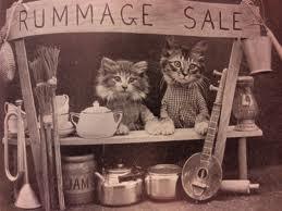 rummage sale cats