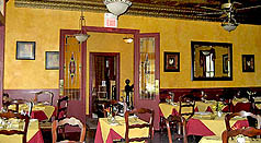 popes tavern dining room