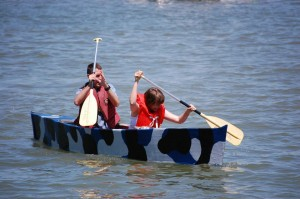 Cardboard boat races - last week in June!